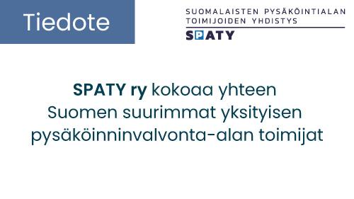 """Featured image for """"Suomalaisten pysäköintialan toimijoiden yhdistys ry kokoaa yhteen Suomen suurimmat yksityisen pysäköinninvalvonta-alan toimijat"""""""